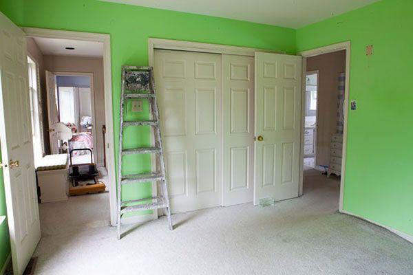 How To Paint Neutral Over Bright Walls Bright Walls Green Room Colors Light Green Walls
