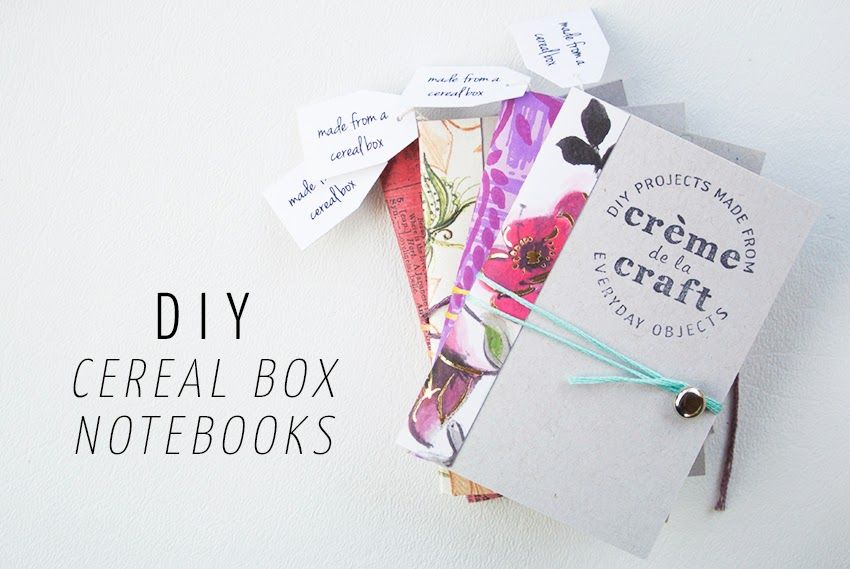 Make diy notebook cereal boxes by cremedelacraft diy drawing make diy notebook cereal boxes by cremedelacraft ccuart Images