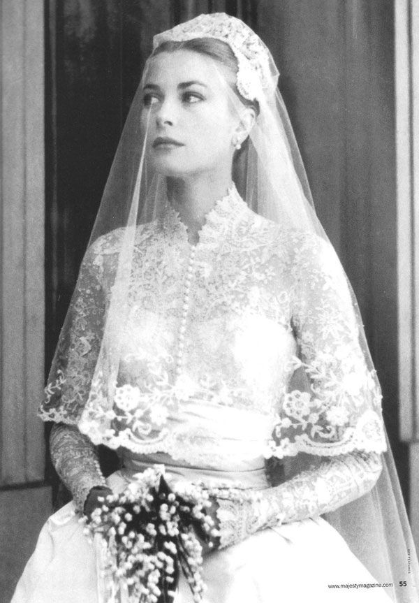 La Robe De Mariée De Grace Kelly Old Hollywood En 2019