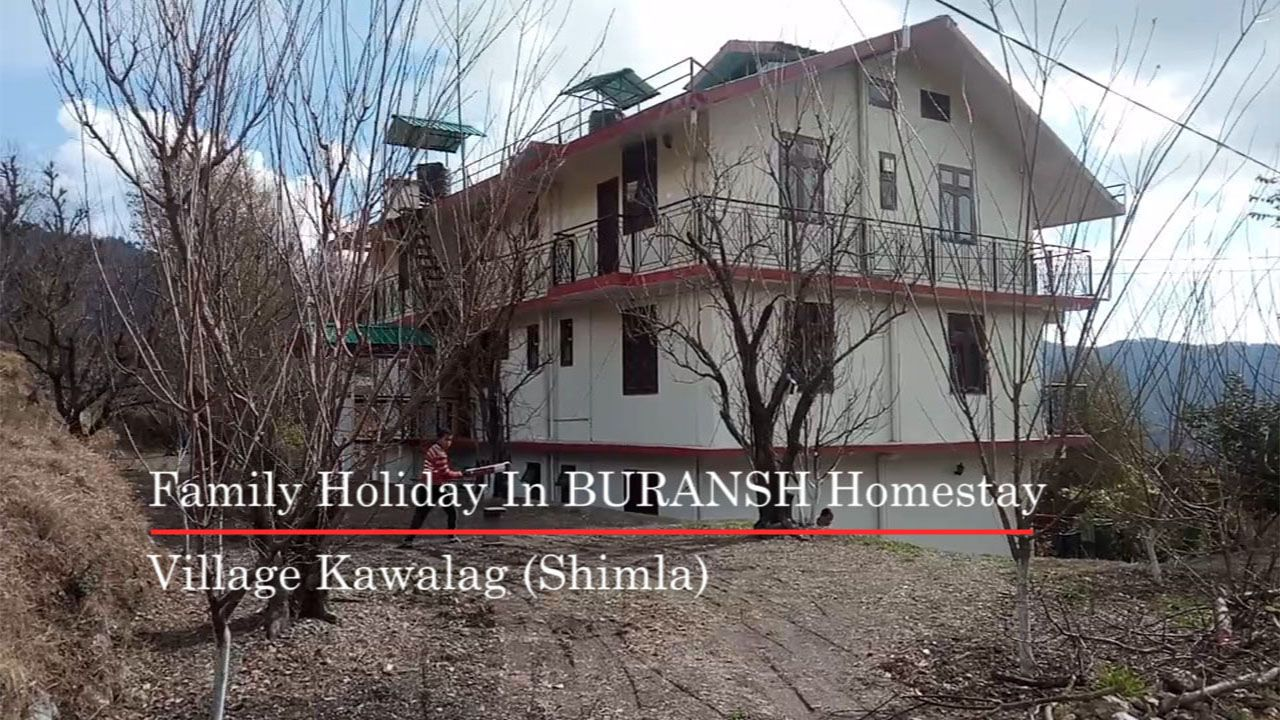 Family Holiday Tour In Buransh Homestay In Shimla They Are