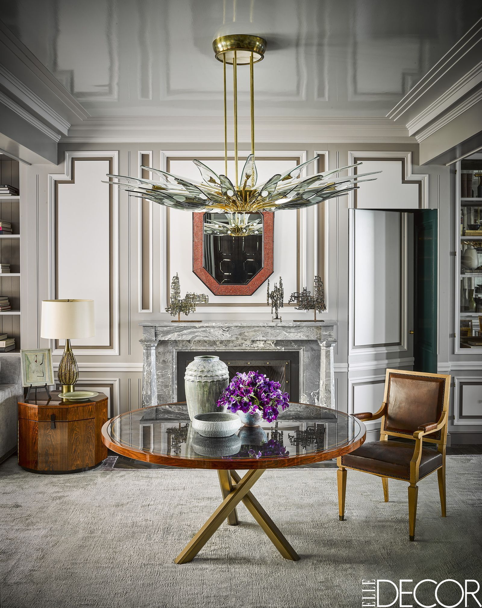 This Art Deco Apartment In Chicago Is All About Personal Style Elledecor