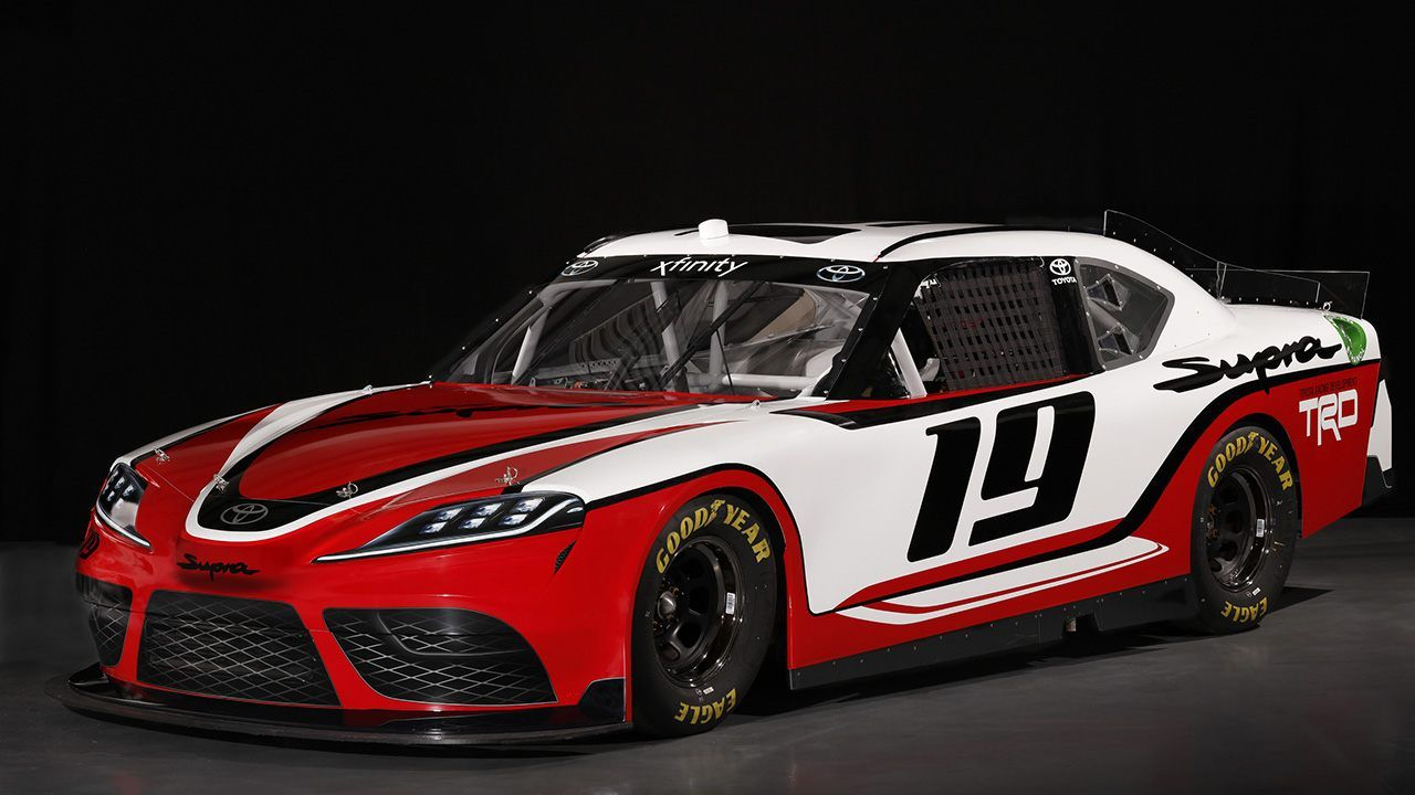 Wallpaper Toyota Supra Nascar Xfinity Series 2019 4k: Toyota Supra NASCAR Xfinity Series Car Confirmed For 2019
