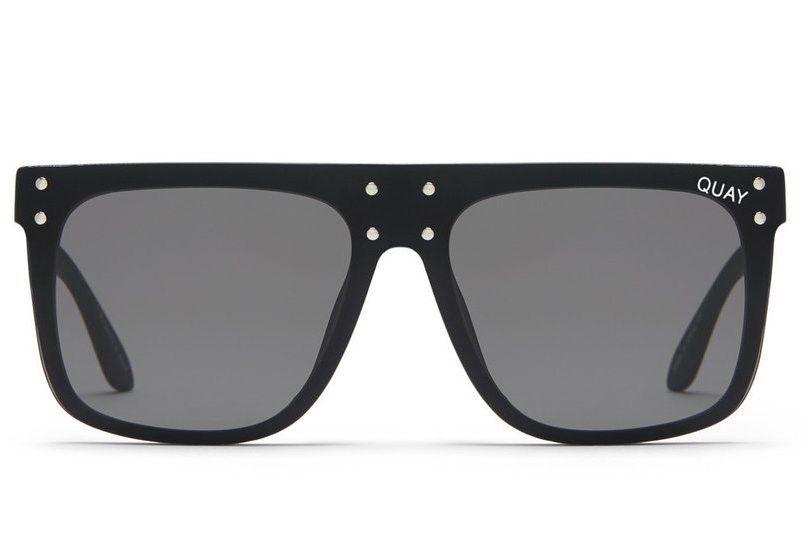 4a4549fdb5 Quay x Kylie Jenner Hidden Hills Black   Smoke Sunglasses