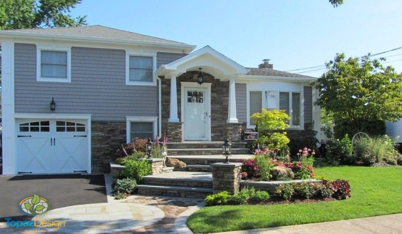 Raised Ranch Remodel Exterior Curb Appeal