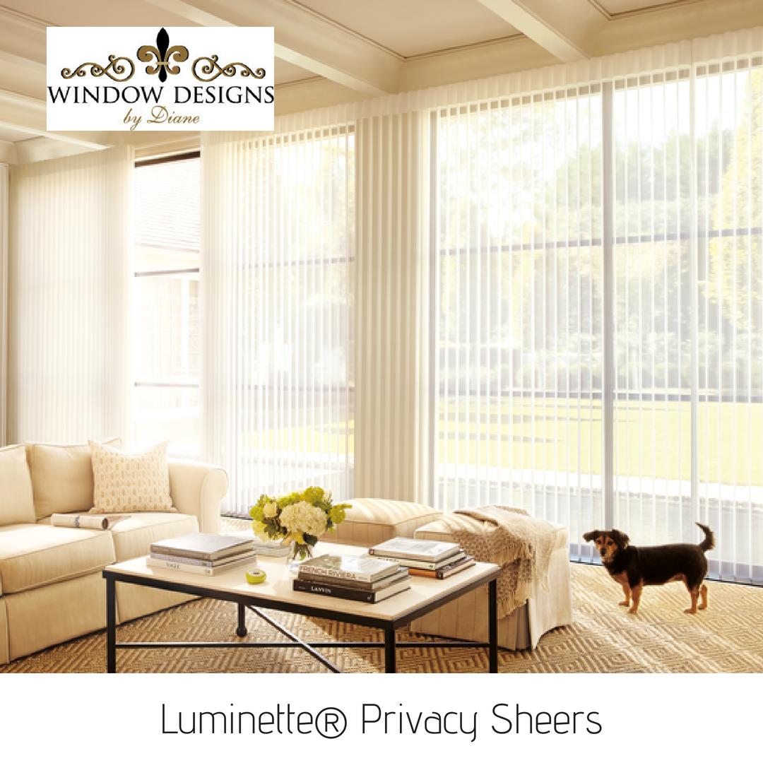 Love Hunter Douglas Luminette Privacy Sheers Hunter Douglas