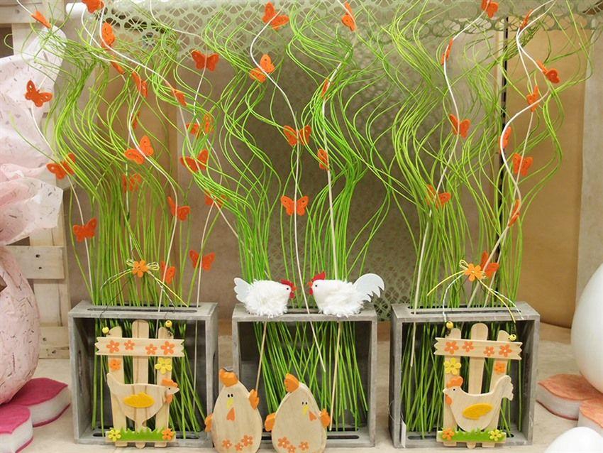 Idee allestimento vetrine pasqua e primavera fai da te - Idee per vetrine primaverili ...