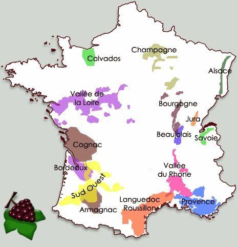 France Geographie Vignoble Francais Vignoble Roussillon Provence