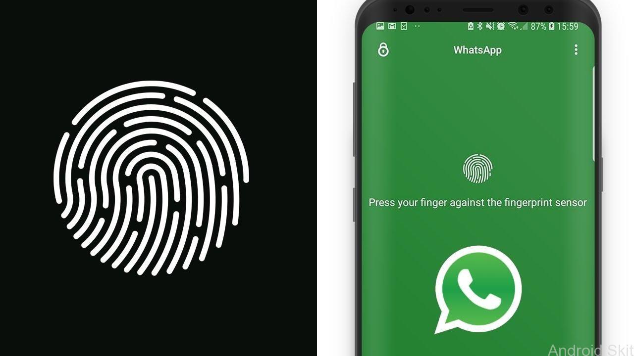 WhatsApp has implemented a fingerprint authentication