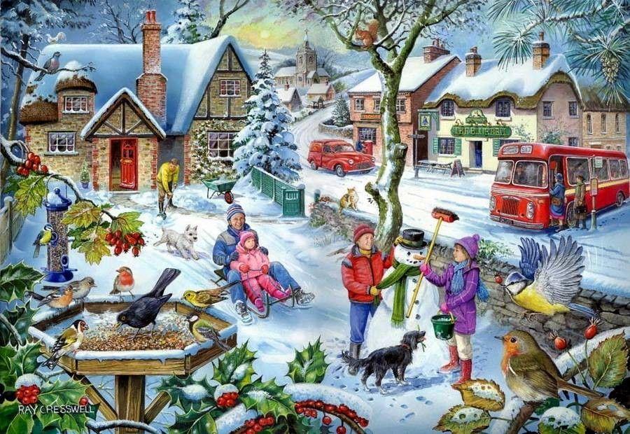 Картинки на тему новогодние хлопоты