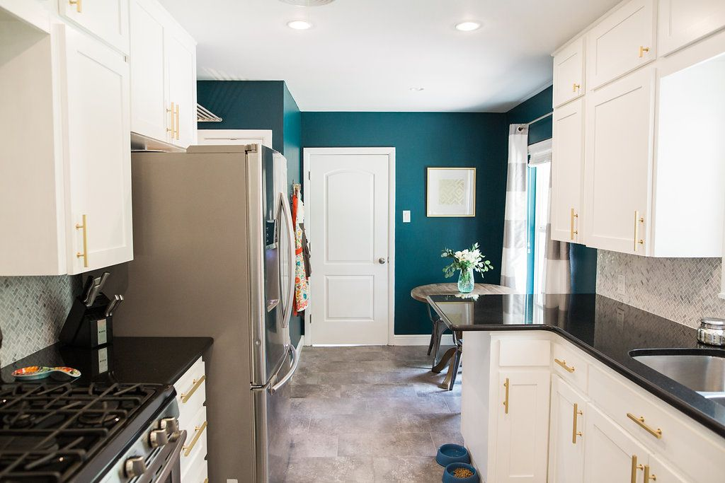 Austin Bungalow Kitchen Remodel Dark Harbour Benjamin