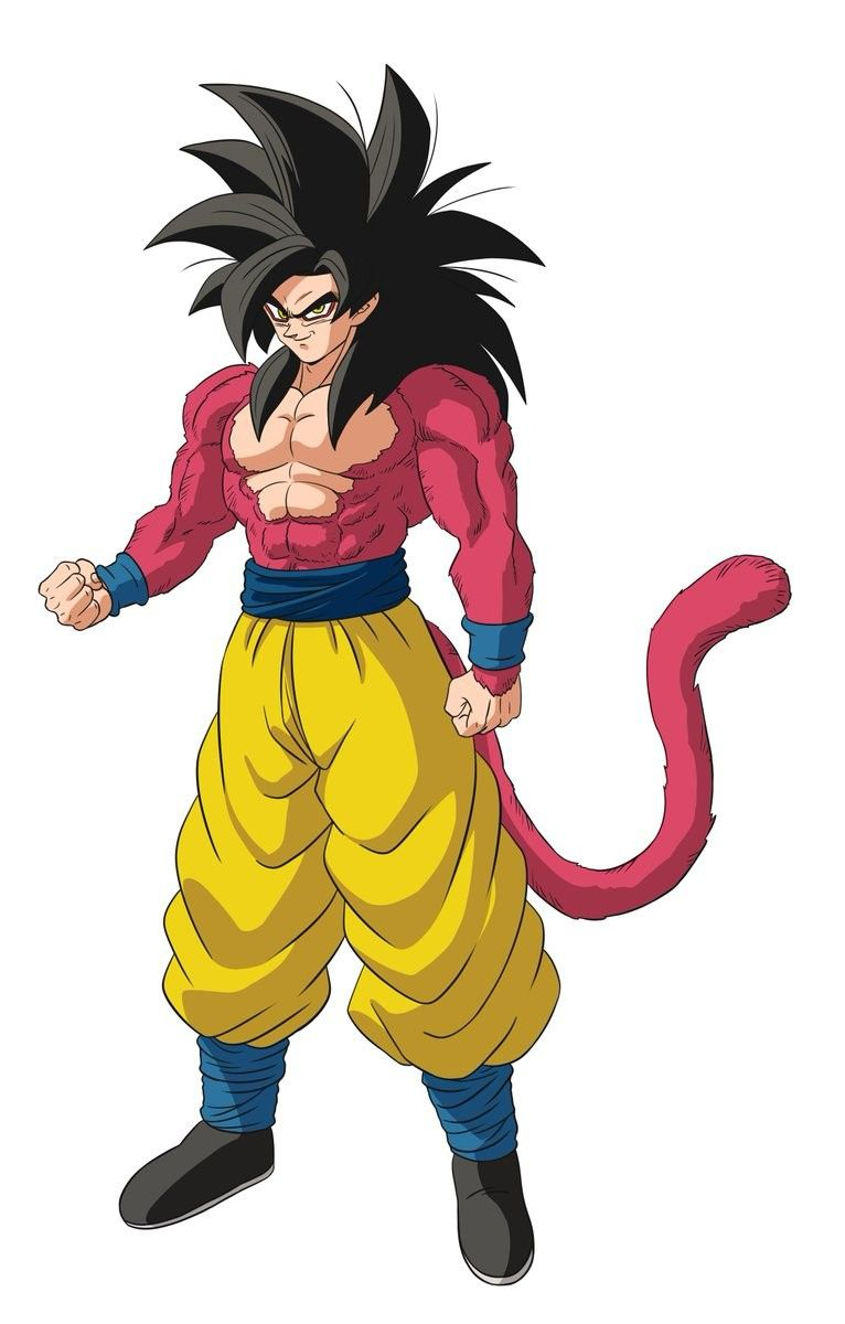 Goku Ssj4 Style Dbs Broly Personajes De Dragon Ball Personajes De Goku Dragones