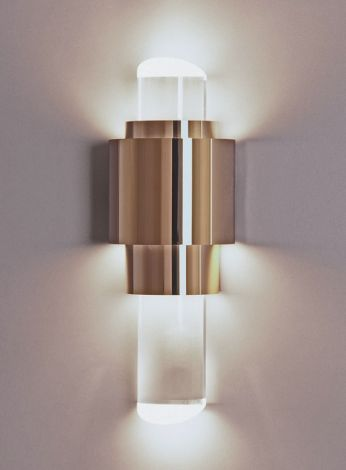 DECORATIVE WALL LIGHT AT END OF CORRIDOR AND STRATEGIC CORRIDOR ...