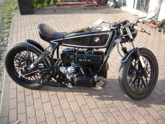 bmw r45 wam classic bobber cafe racer als motorrad in. Black Bedroom Furniture Sets. Home Design Ideas