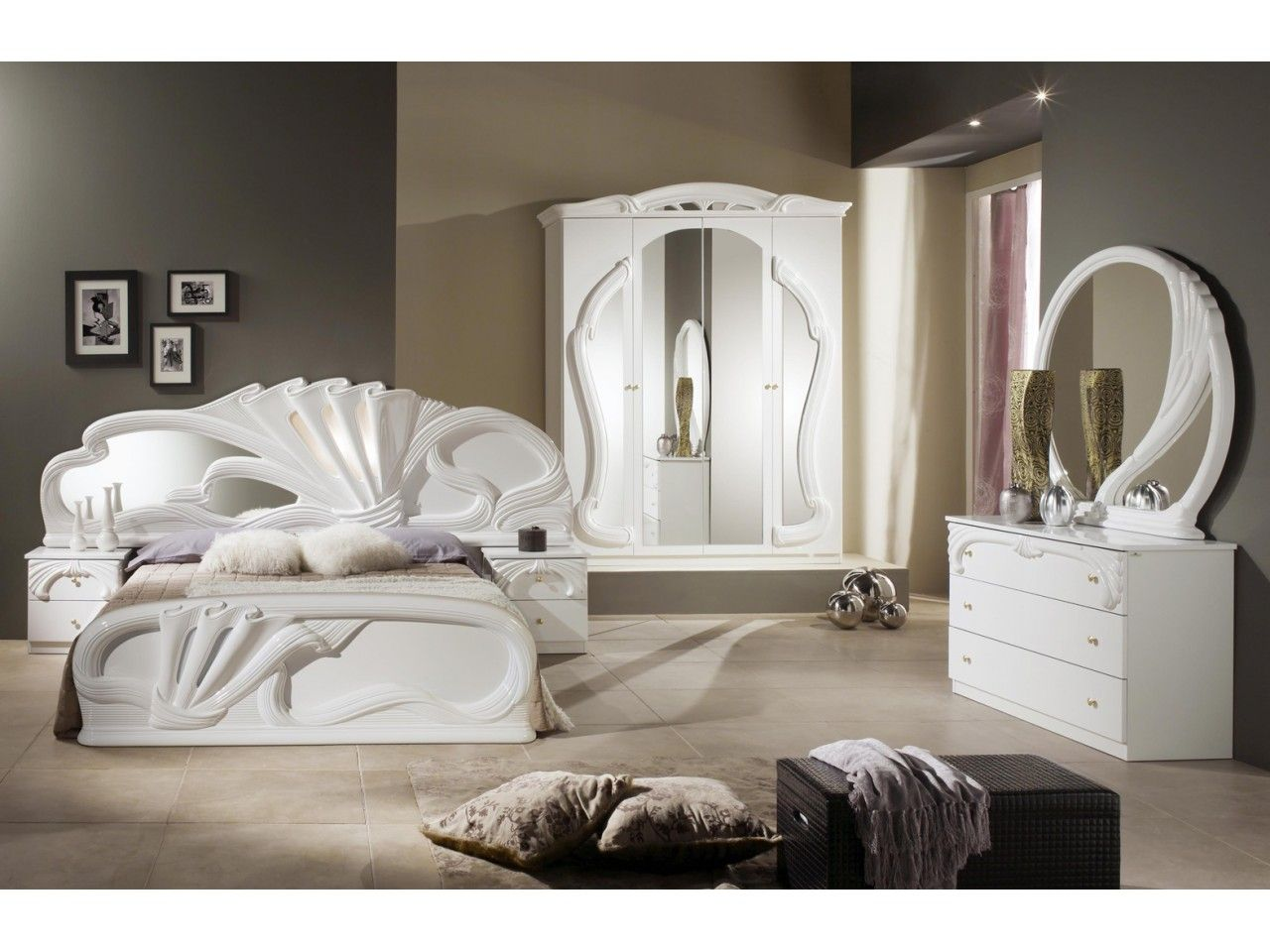 Chambre A Coucher Italian Bedroom Classic Bedroom Furniture Bed Furniture