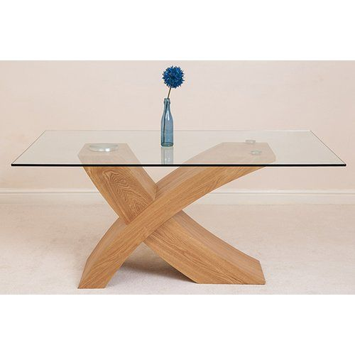 Ebern Designs Valencia Dining Table In 2020 Glass Dining Table