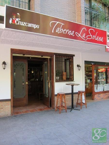 Taberna La Solana Restaurantes Hoteles Granada