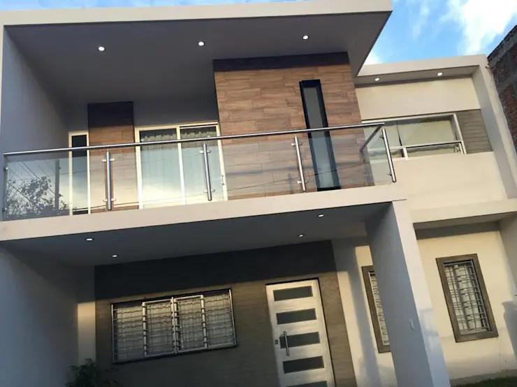 15 Fachadas De Casas Con Balcones En Mexico Casas Con Balcon Casas Modernas Casas Con Balcon Modernas