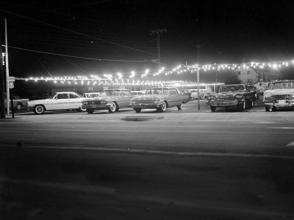 North Carolina, 1960s North carolina, Car dealership, 1960s