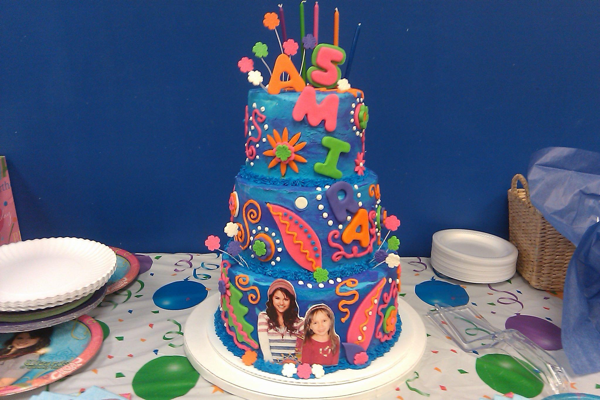 Amira S 5th Birthday Cake Wizards Of Waverly Place 5th Birthday Cake Cake Birthday Cake