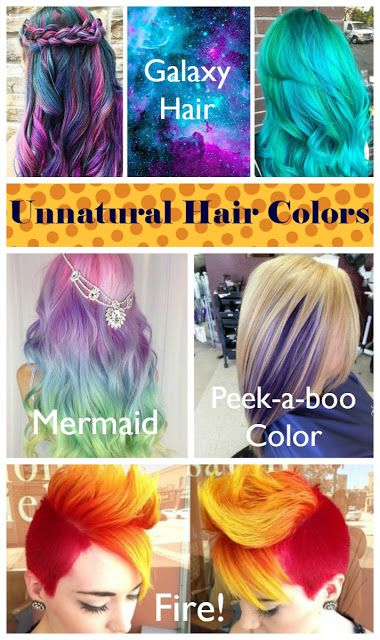 Unnatural Hair Colors Does This Pin Even Work Unnatural Hair