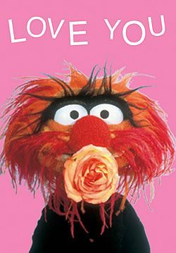 Animal from the muppets valentine the muppets cards - Animal muppet images ...