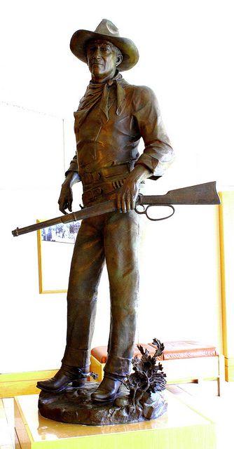 "Edward J. Fraughton's John Wayne bronze, ""The Duke"" (National Cowboy & Western Heritage Museum, Oklahoma City)"