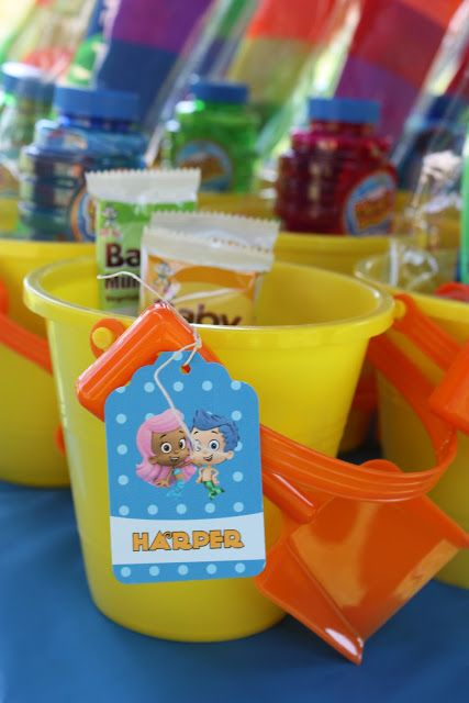 Themed Parties Spotted Ink A Very Bubble Guppies Birthday