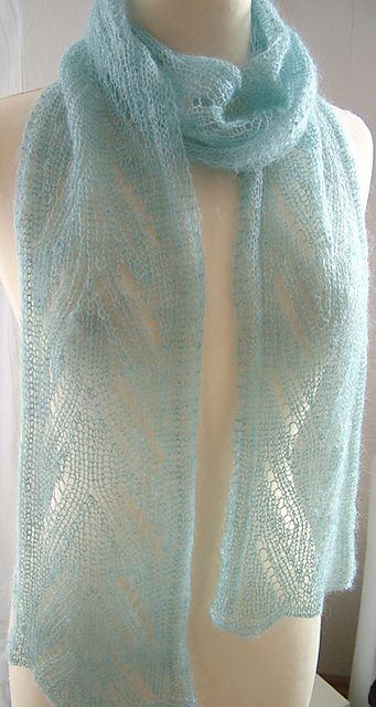 Daniela's own pattern knit out of Artyarns Silk Mohair.  So gorgeous!