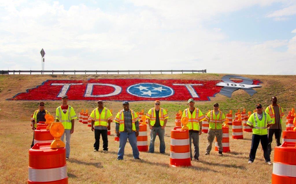 109 barrels represent a TDOT life lost  This is region 4's memorial