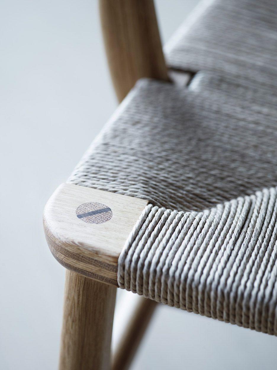 CH22 lounge chair / Hans J Wegner for Carl Hansen & Søn