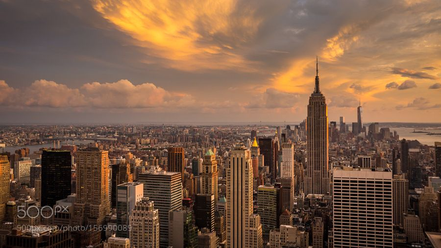 New York City Manhattan Sunset K Ultra Hd Desktop Wallpaper By Hermandekeyperling Resimler Gunbatimlari Fotografcilik Ipuclari
