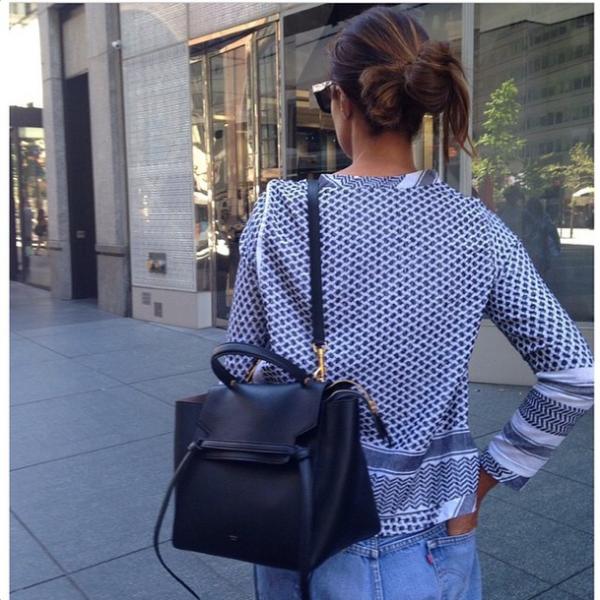 Celine Black Mini Belt Bag  76c59fc570e9e