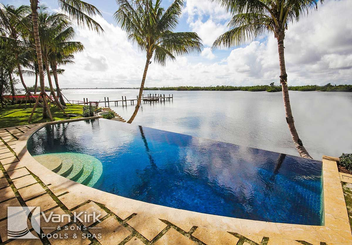 explore geometric pool pool designs and more residential infinity pools41 infinity