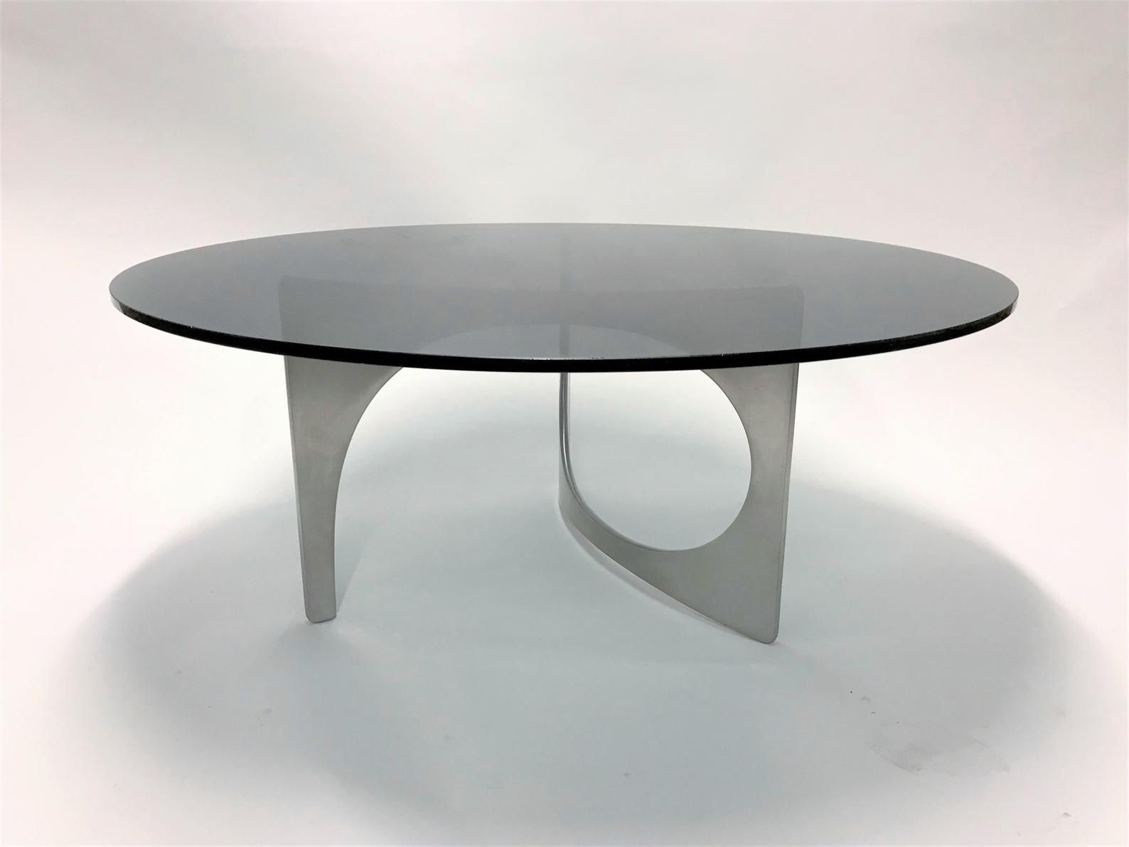 Vintage Sculptural Coffee Table By Knut Hesterberg 1960s Mid