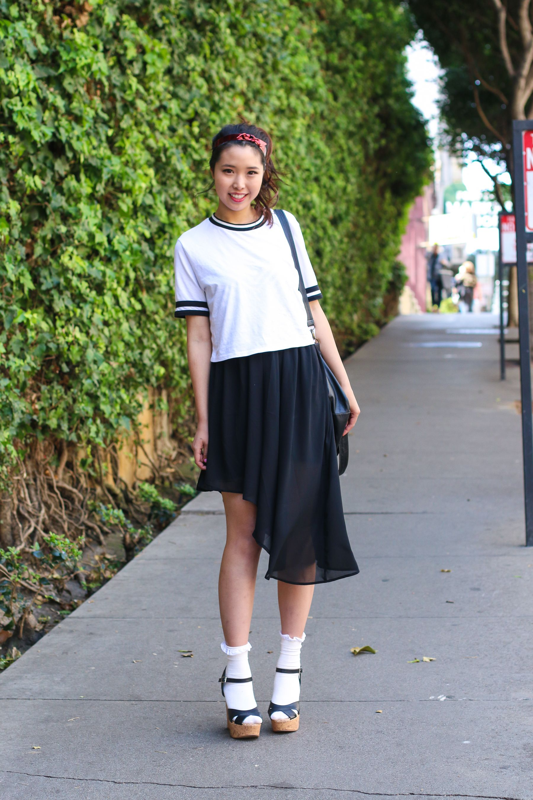 Ally Pin Up Ally Gong Ryan Chua Fashion Blogger Teenage High