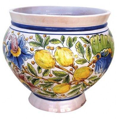 macet n limones cer mica artesanal de sevilla On ceramica artesanal sevilla