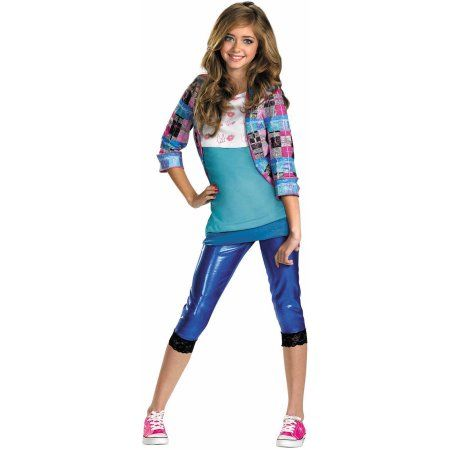 Shake It Up CeCe Child Halloween Costume, Girl's, Size: Large, Multicolor