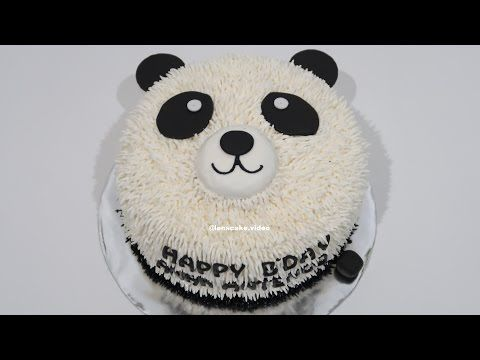 Youtube Panda Birthday Cake Panda Cakes Make Birthday Cake