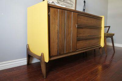European Paint Finishes: Retro Dresser