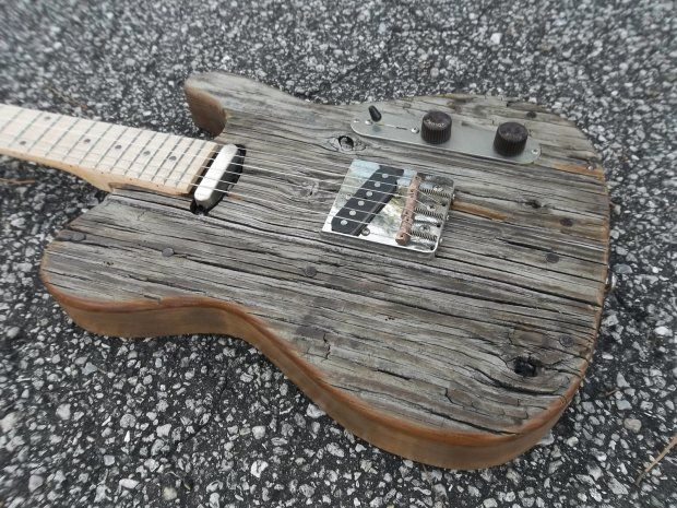roadhouse guitars 52 barncaster t built with fender telecaster parts reverb telecaster in. Black Bedroom Furniture Sets. Home Design Ideas