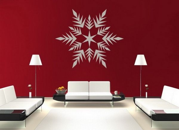 Deck Your Walls with Christmas Decal Décor
