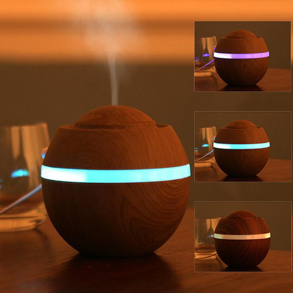 LED Ultraschall Humidifier 500ml Aromatherapy Diffuser Car Mist Essential Oil