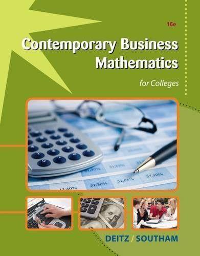 11++ Business math information