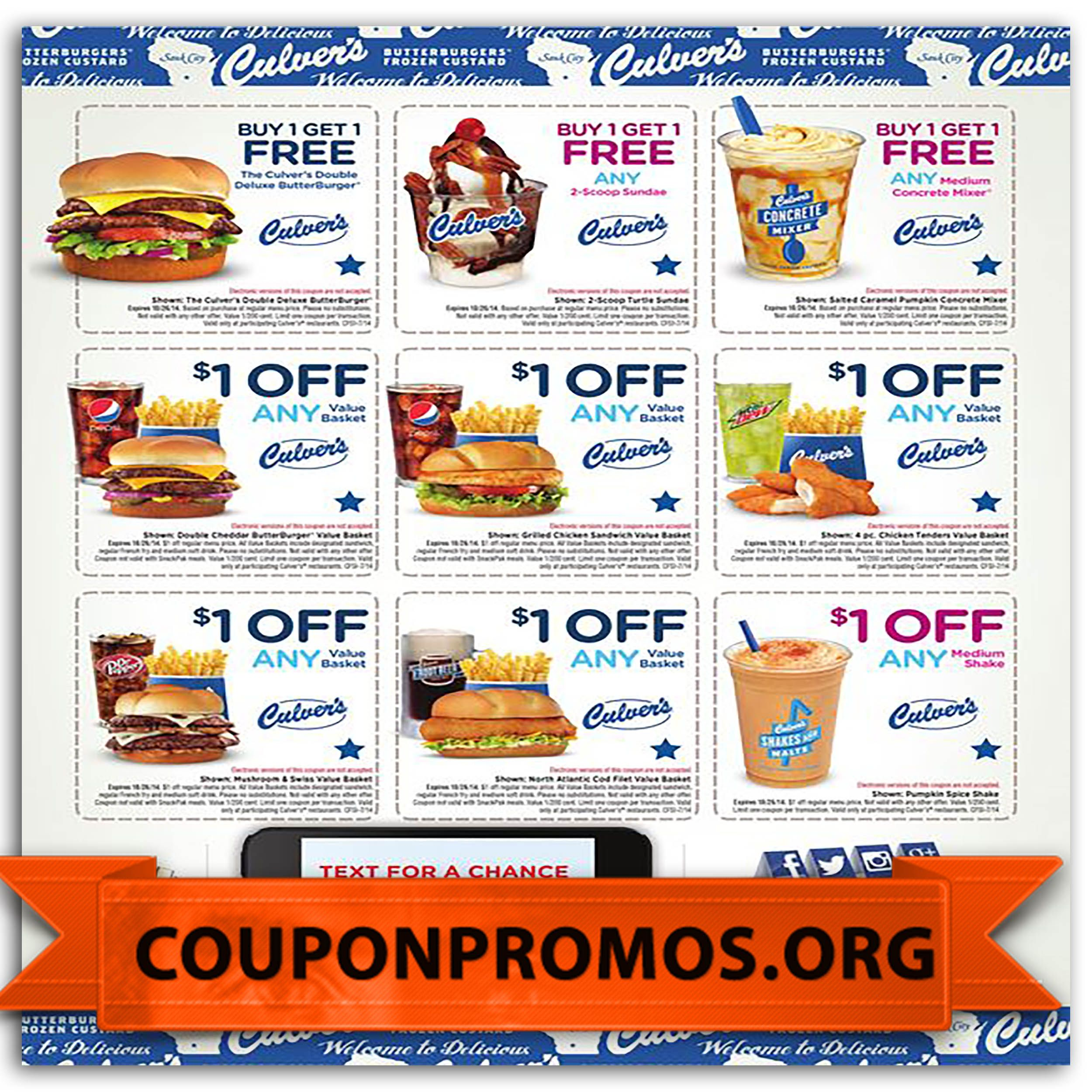 photo about Culver's Printable Coupons referred to as Pin as a result of Angel Bjork upon Angel Grocery discount coupons, Coupon codes