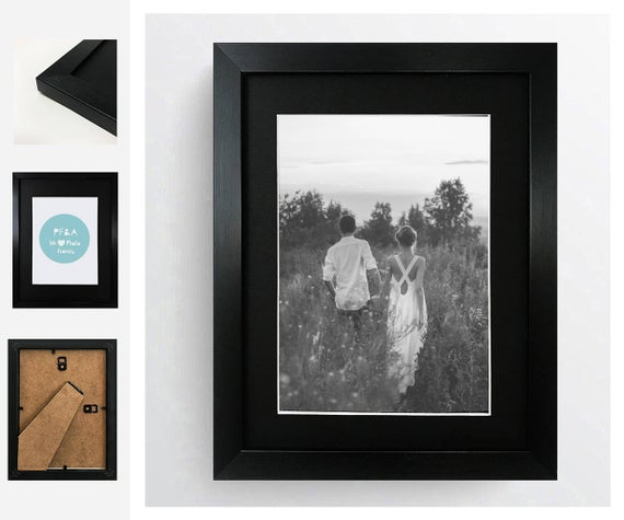 Frame Description A Stylish Thin Photo Frame With A Delicate Grain Texture Fitted With A High Quality Glass Window Size Photo Frame Frame Grain Texture