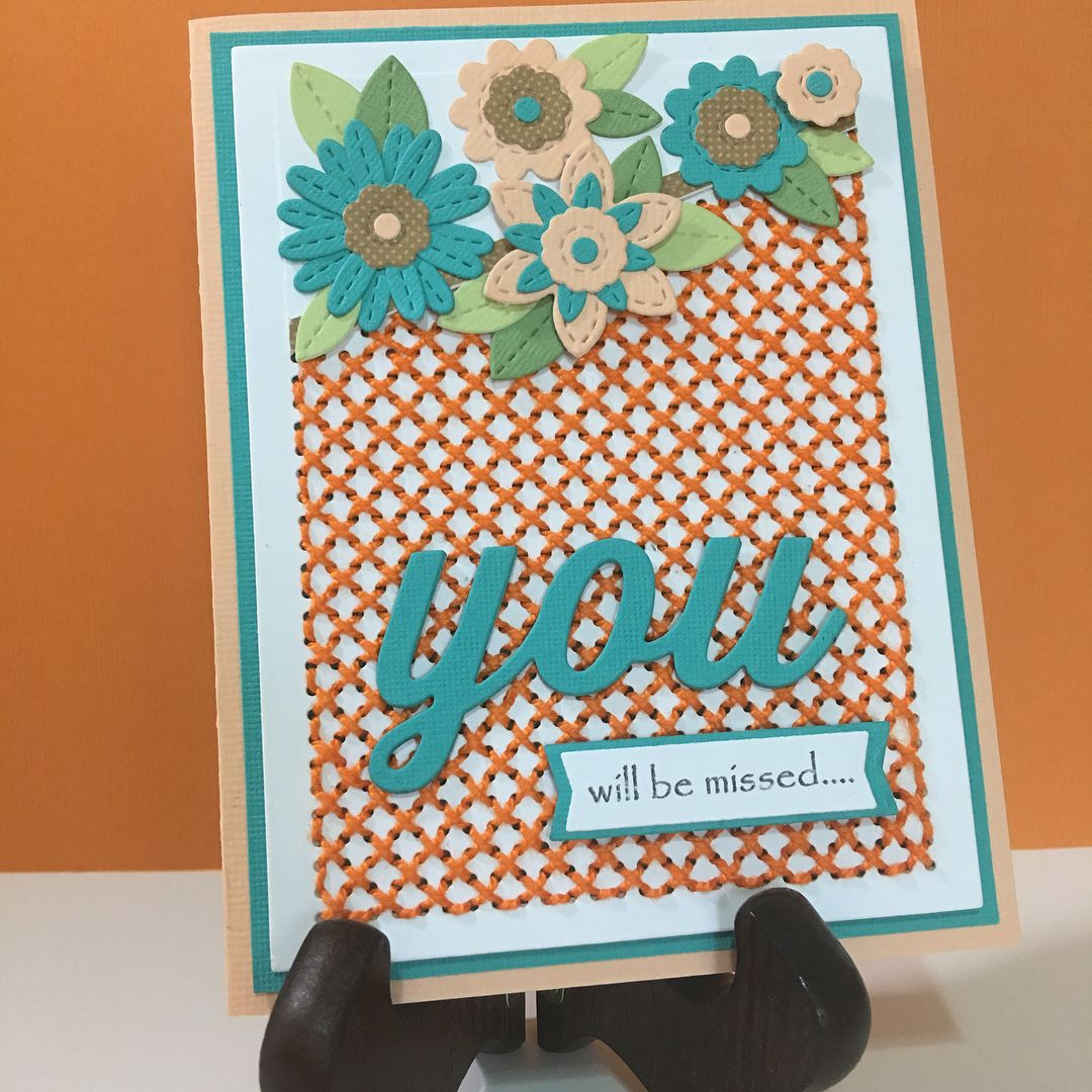 Farewell Card For A Friend With A Message Farewell Farewellparty Movingonquotes Retirement Feelinggrateful Farewell Cards Embroidery Cards Goodbye Cards