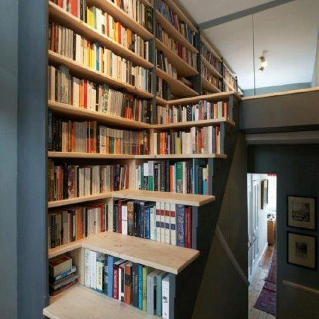 wowwwwwww nice library biblioth que escalier. Black Bedroom Furniture Sets. Home Design Ideas