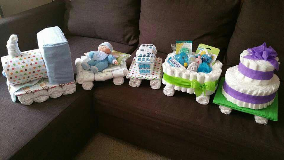 Guide For Diaper Cake Centerpieces A Very Nice Gift Idea For The