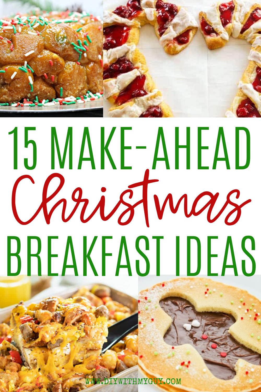 15 Easy Christmas Morning Breakfast Ideas - DIY With My Guy
