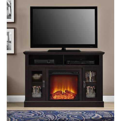 Tucci Tv Stand For Tvs Up To 50 Inches With Electric Fireplace